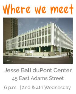 Where our club meets